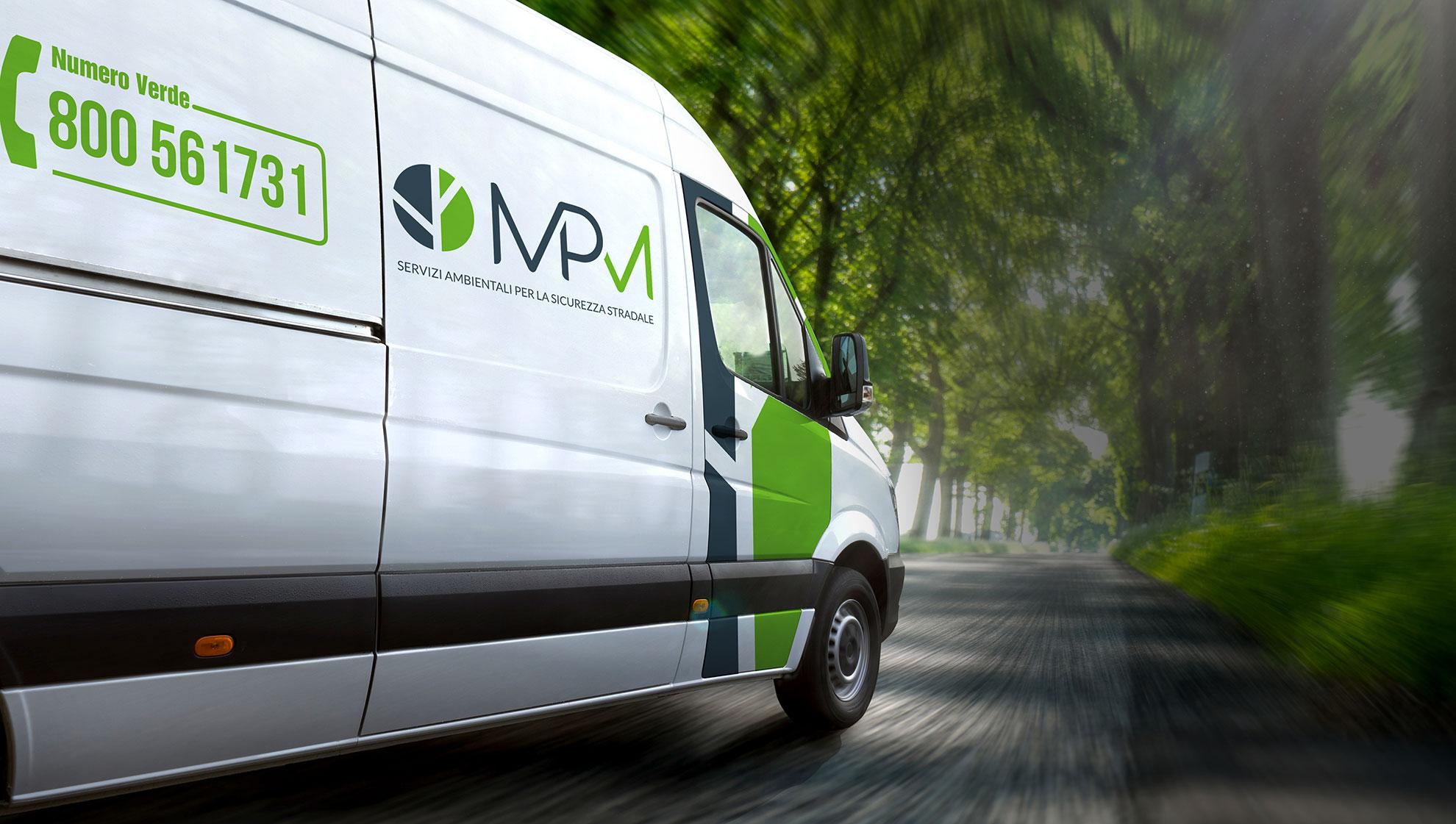 furgoncino mpm - pulizia e ripristino strade post incidente