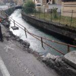 Ripristino stradale post incidente Villa D'Ogna (Bergamo)