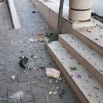 Ripristino arredo urbano post incidente Osimo (Ancona)
