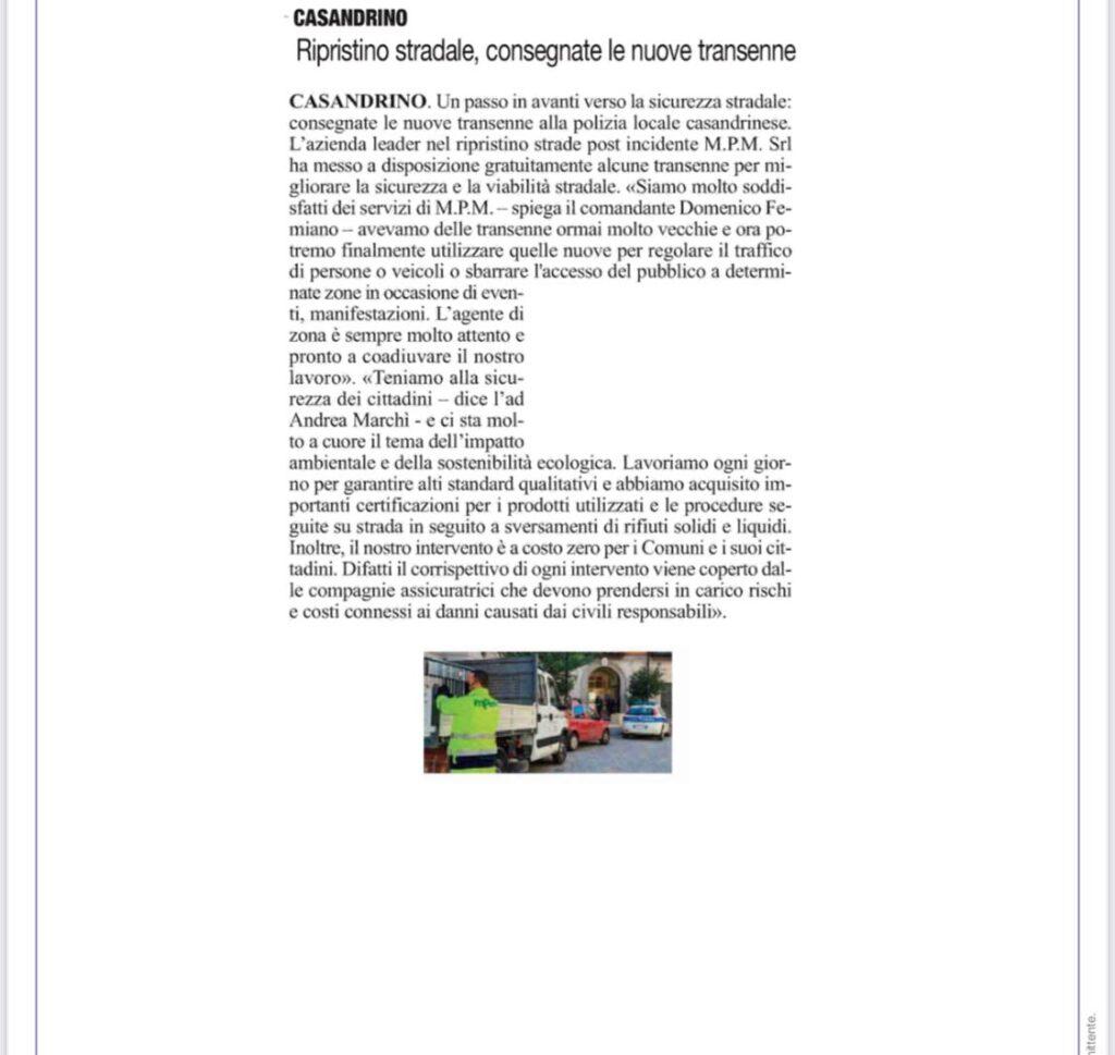 Articolo Casandrino
